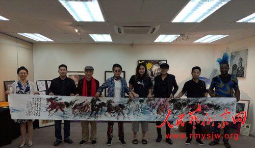 著名书画家刘咏阁受邀吉隆坡参加世界朋友节